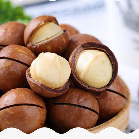 夏威夷果200gx3袋坚果炒货零食干果奶油味 送开果器